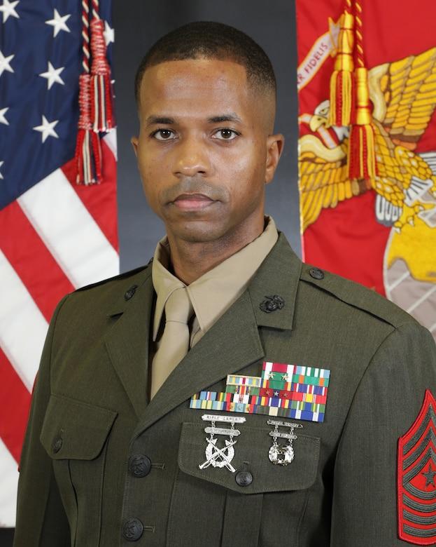 Sergeant Major Paris E. Mintz