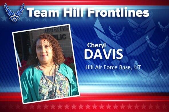 Team Hill Frontlines: Cheryl Davis