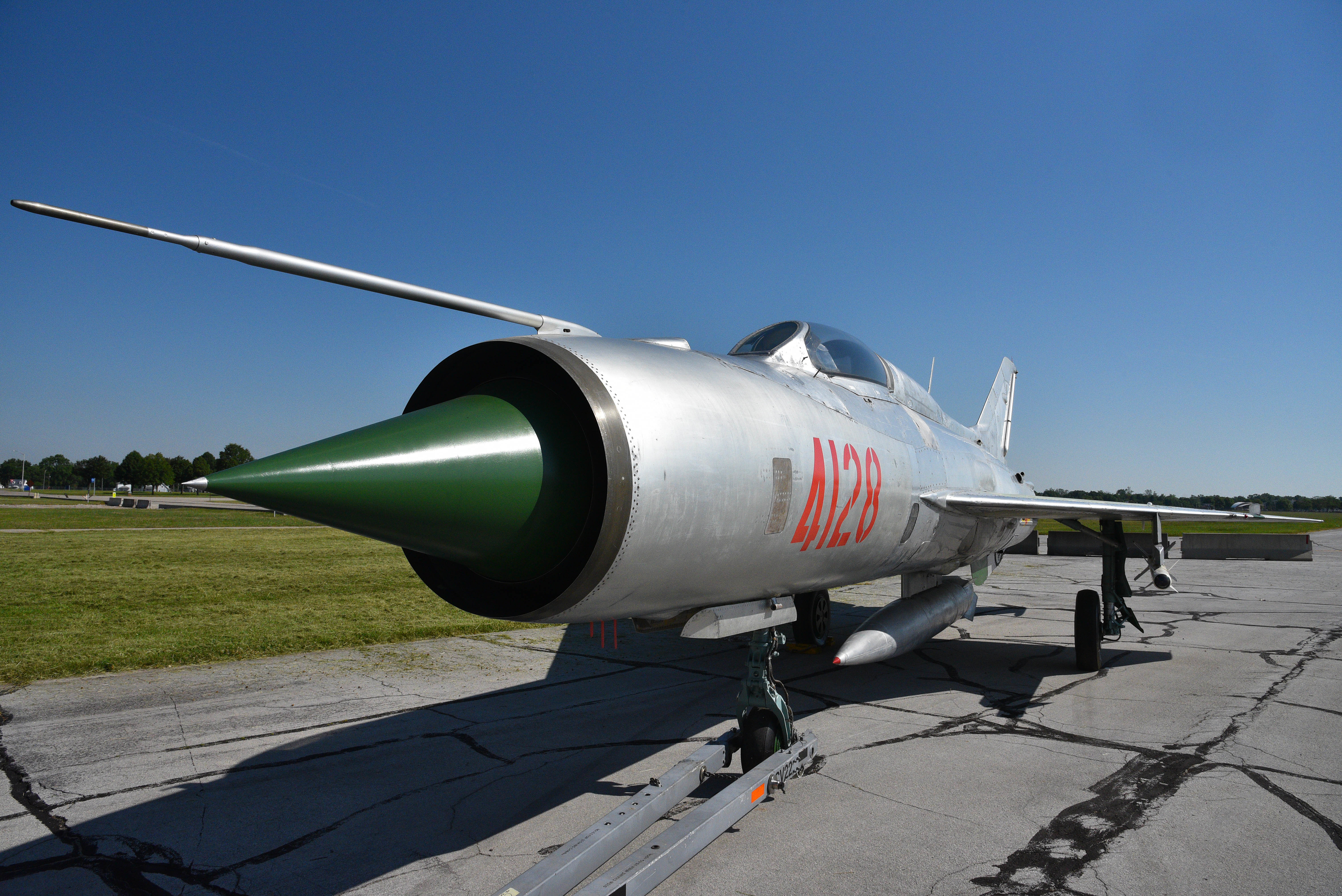 """Mikoyan-Gurevich MiG-21PF """"Fishbed-D"""" > National Museum of the ..."""