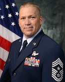 Official photo of Chief Master Sgt. Jeffery Scott