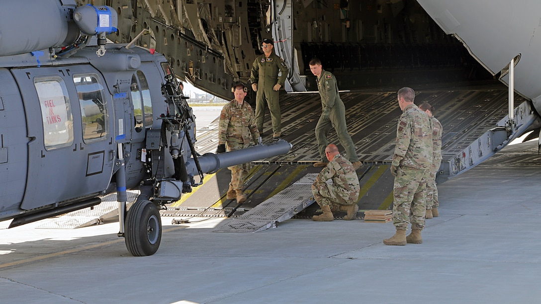 176th Wing Guardsmen deploy to Africa