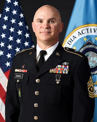 Image of SGM Sean Parrish, Senior Enlisted Advisor