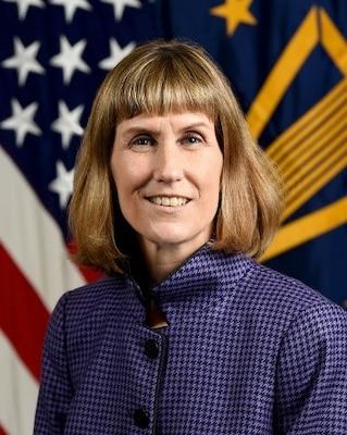 Official bio photo for Kristina O'Brien, Principal Deputy Director for Logistics.