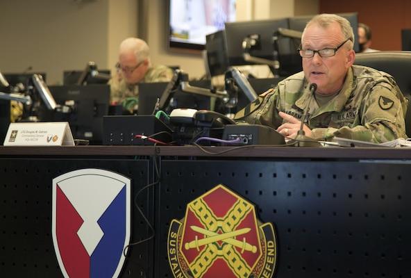 Lt. Gen. Douglas Gabram remarks.