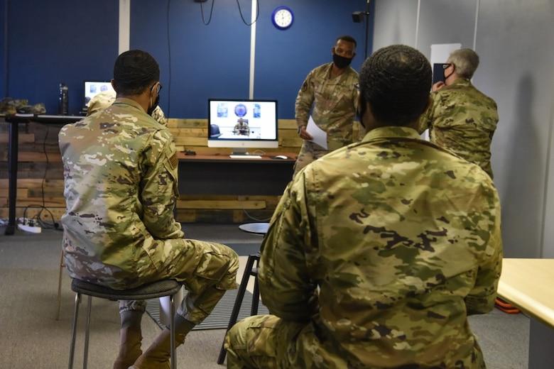 Gen Clark, 548 ISRG Airmen talk diversity, leading the fight