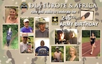 Members of the DLA Europe & Africa team in Kaiserslautern, Germany, ran and walked at least 2.45 miles this weekend to celebrate 245 years of the Army defending and protecting the United States.