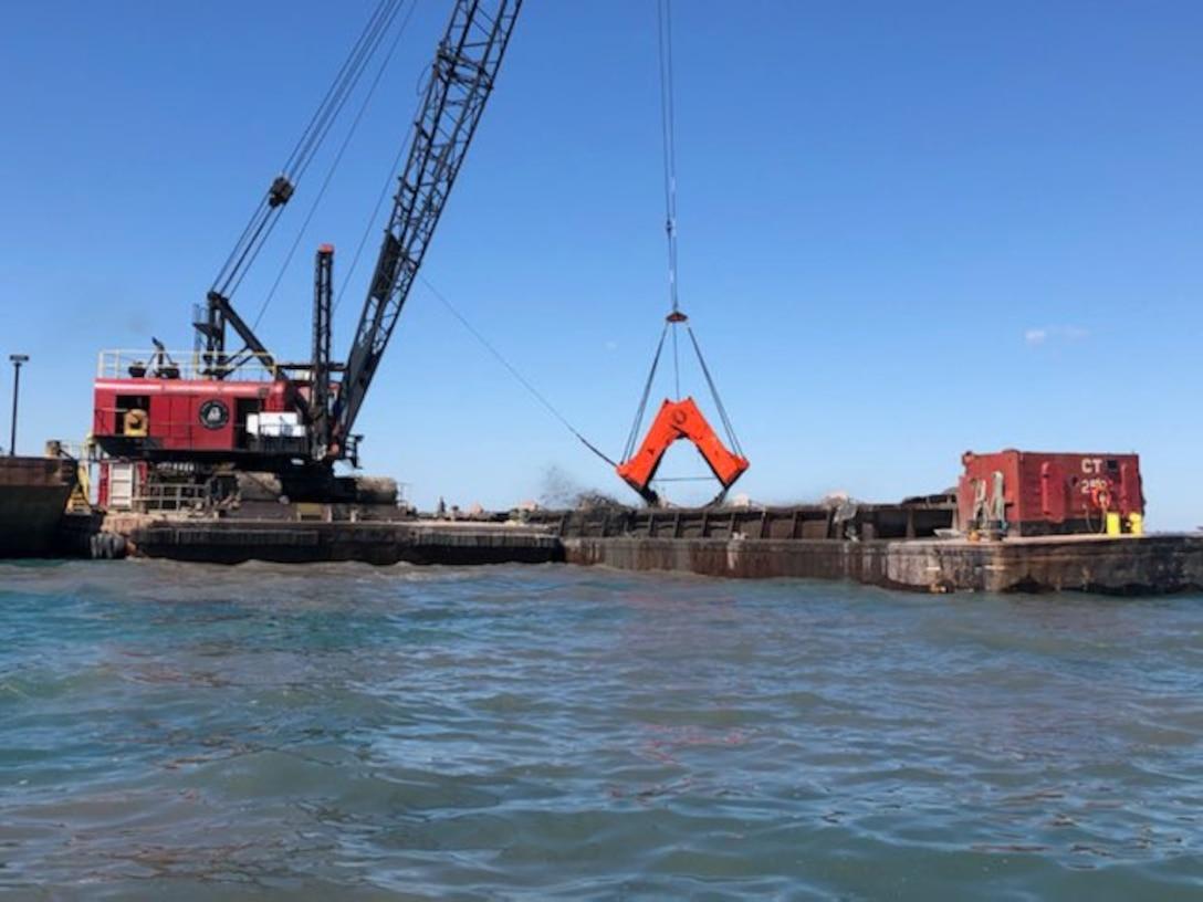 Detroit River dredging