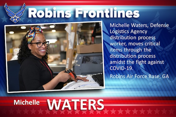 Robins Frontlines: Michelle Waters