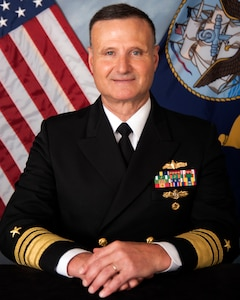 VADM William Galinis, Commander Naval Sea Systems Command