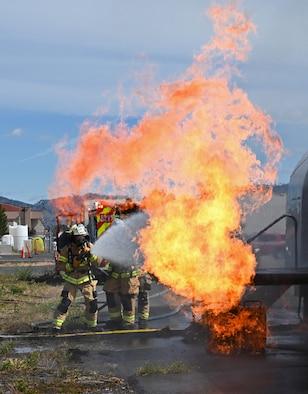 Firefighter Live-Fire Training