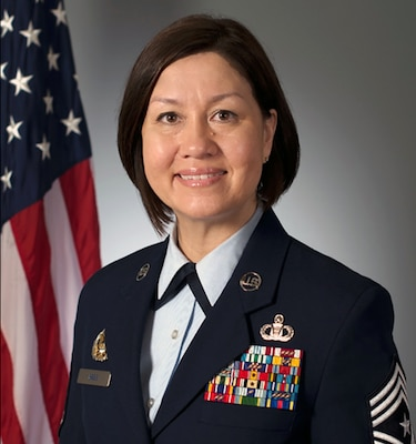 Chief Master Sgt. JoAnne S. Bass was selected June 19 to become the 19th Chief Master Sergeant of the Air Force, becoming the first woman in history to serve as the highest ranking noncommissioned member of a U.S. military service.