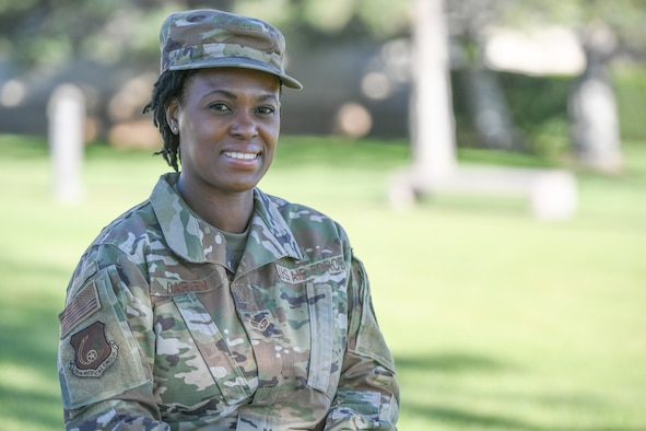 Senior Airman Roxanne Darien, 75th Operational Medical Readiness Squadron community health technician.