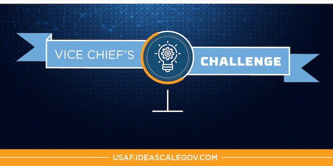 The submission deadline for the Vice Chief's Challenge has been extended to Aug. 7, 2020. (U.S. Air Force graphic)
