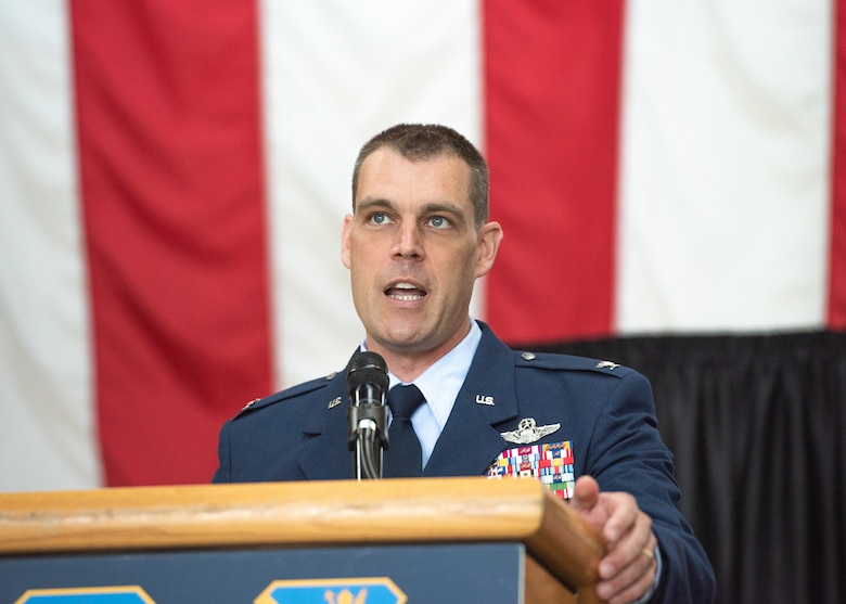 Col. Campbell assumes command of the 374th AW