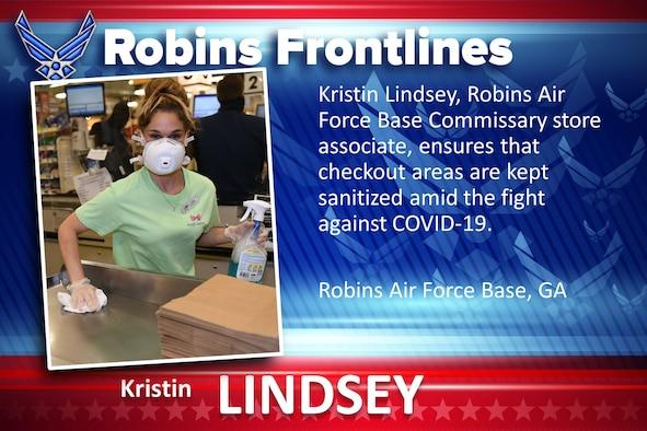 Robins Frontlines: Kristin Lindsey