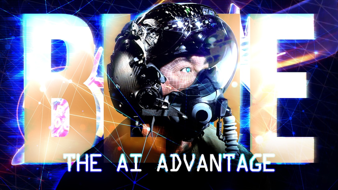 The Air Force aims to harness and wield the most optimal forms of artificial intelligence to accomplish all mission-sets of the service with greater speed and accuracy. One way to accomplish this effort is by embedding innovative Airmen of all ranks and backgrounds into academia and industry across the nation. (U.S. Air Force graphic by Travis Burcham)