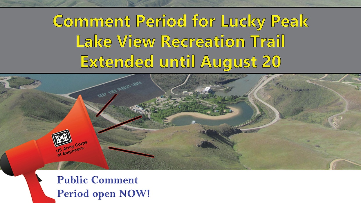 lucky peak trail comment period extended