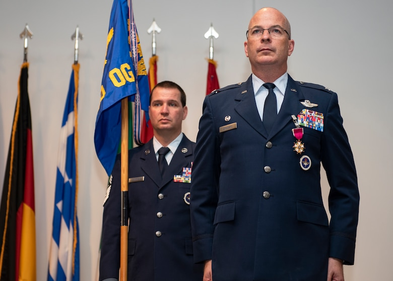 Driggers recognized after Legion of Merit award