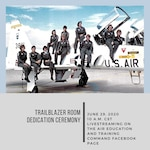 Air Education and Training Command officials will rename the Martin Hall conference room during a virtual ceremony here June 29, 2020 at 9 a.m. CST.