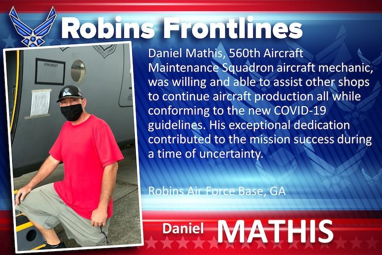 Robins Frontlines: Daniel Mathis