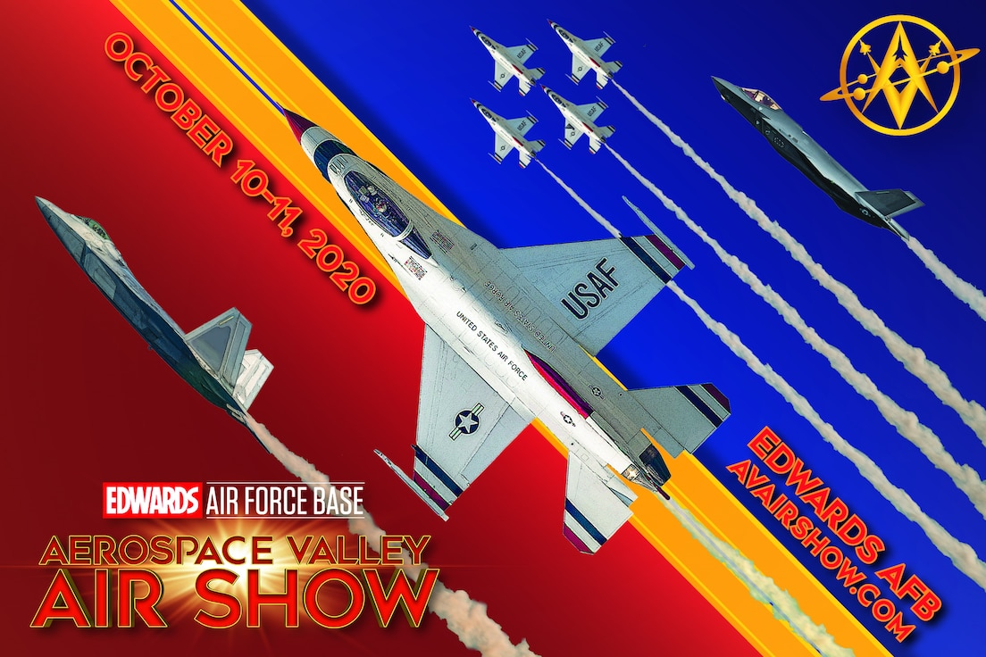 """The 412th Test Wing commander, Brig. Gen. Matthew Higer, announced the 2020 Aerospace Valley Air Show in October will be a """"hybrid event."""" Higer announced the change to the airshow during a live-stream town hall, June 19."""