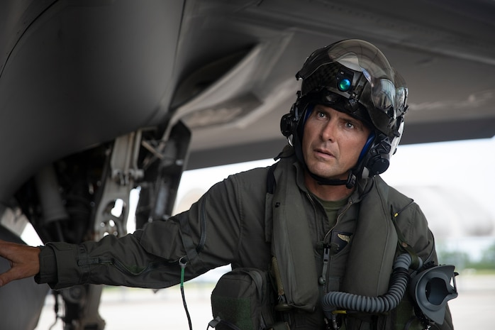Col. Matthew H. Phares, Marine Aircraft Group 31 commanding officer, conducts pre-flight checks of an F-35B prior to take-off, June 3.
