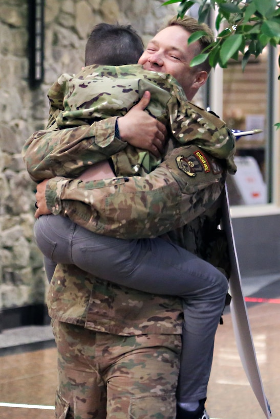 Alaska Air National Guard's Security Forces return home from deployment