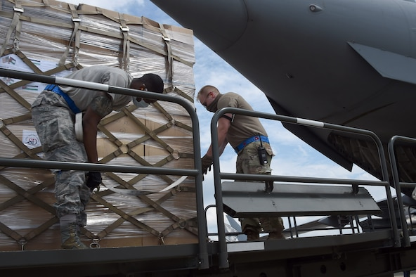 Jordan donates personal protective equipment at Joint Base Andrews for COVID-19 response