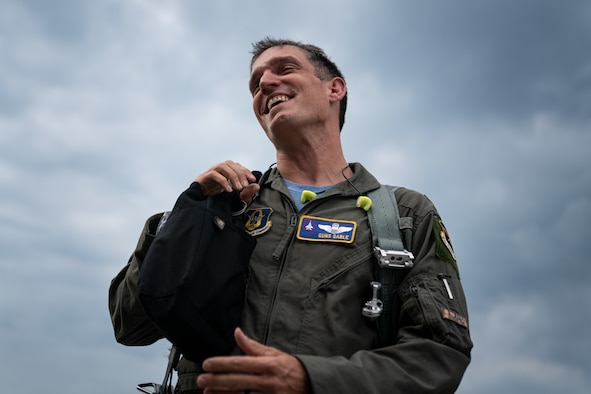 F-15 pilot returns from USAFE-AFAFRICA mission