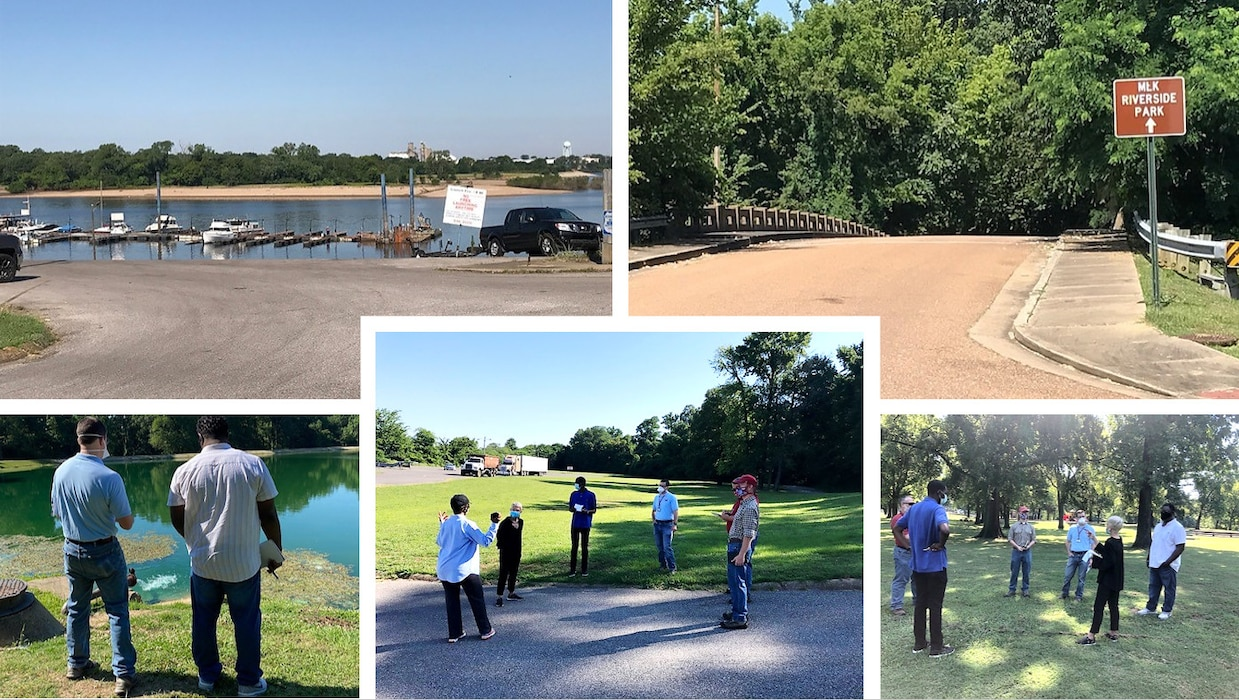 District partners with MRPP to improve MLK Riverside Park