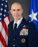 This is the official portrait of Brig. Gen. Jason E. Bailey.