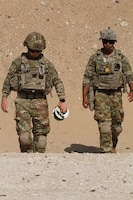 U.S. Army Soldiers with the 741st Ordnance Battalion conduct explosives training in the CENTCOM area of responsibility, June 9, 2020. (U.S. Army photo by Sgt. Andrew Valenza)