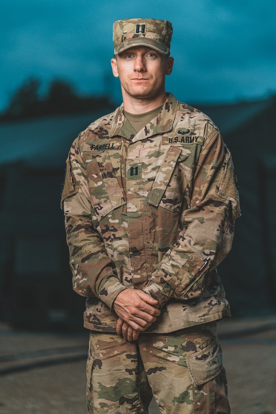 Army Reserve Life: Biomedical Engineer & Medical Operations Officer