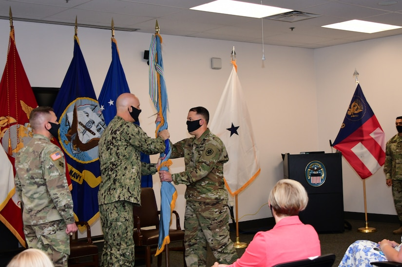 Change of Command signifies transfer of leadership at largest Defense Department distribution center