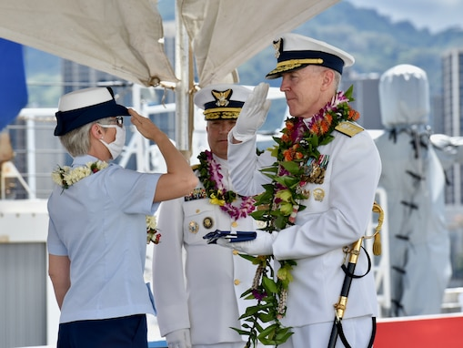New Commander at Helm of Coast Guard 14th District