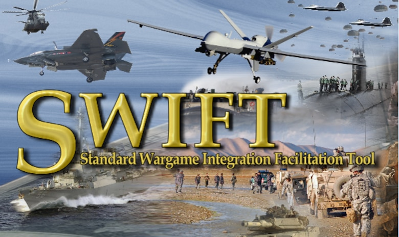 Known as JFEW-Standard Wargame Integration Facilitation Toolkit (SWIFT), the tool provided a digital interface to play, present, and analyze the wargame, and allowed players to quickly react to the operational impact of fuel logistics in real-time.