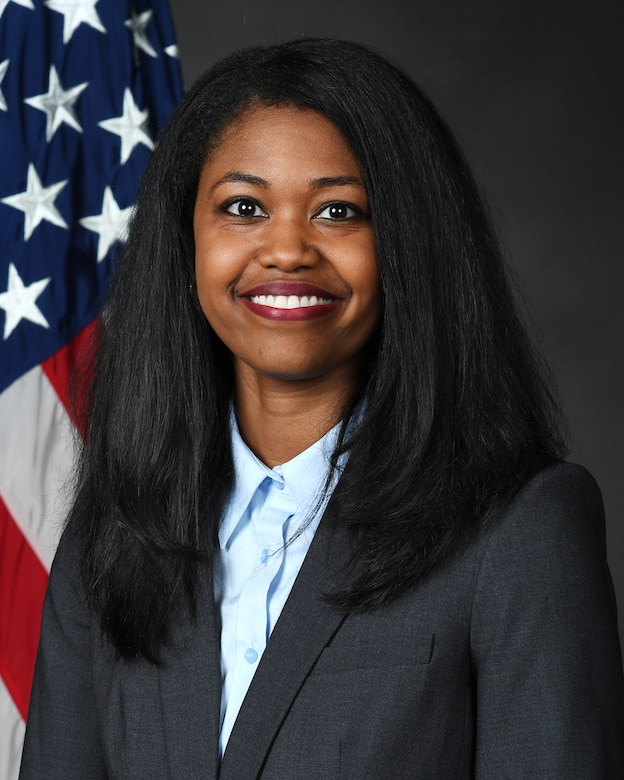 Dr. Candice Hatcher-Solis of the AFRL 711th Human Performance Wing was recently honored with the Women of Color STEM Technical Innovation in Government award for her mentoring, leadership, and spirit of innovation. (Courtesy photo)