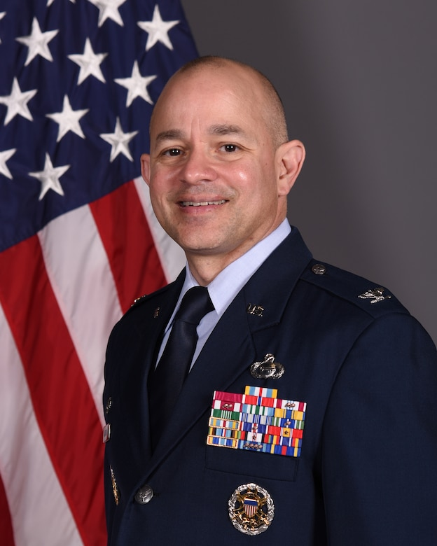 Col. Andres Nazario, 17th Training Wing Commander