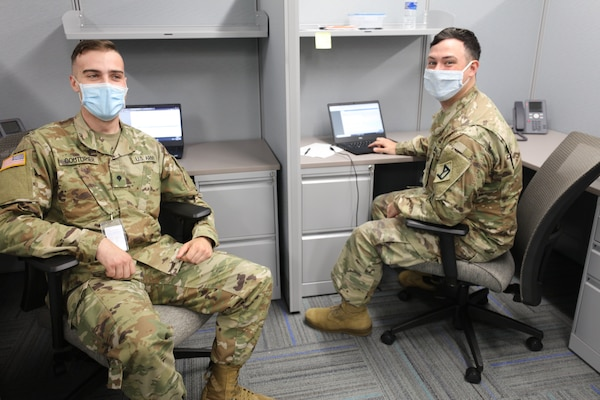 Massachusetts Guard Helps Process Unemployment Claims National Guard Guard News The National Guard