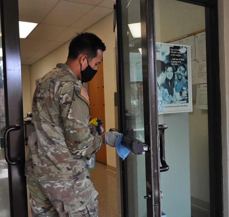 9th Mission Support Command Responds to COVID-19 Pandemic