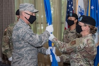 U.S. Army Change of Command. 733d Mission Support Group