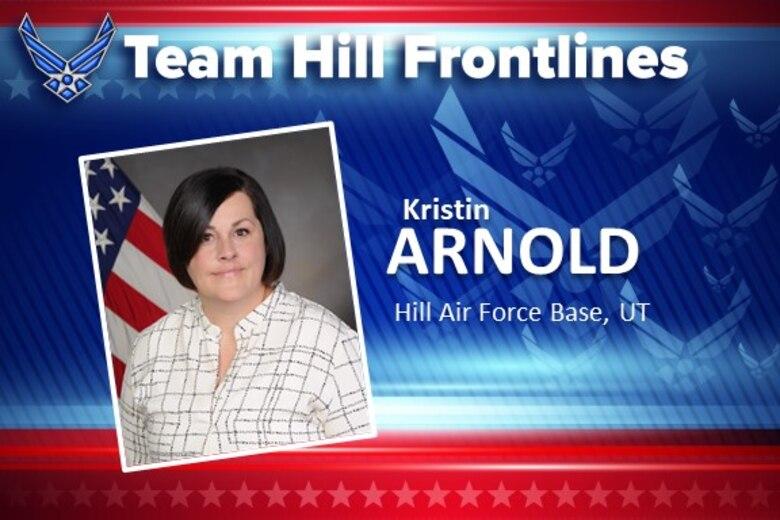 Team Hill Frontlines: Kristin Arnold
