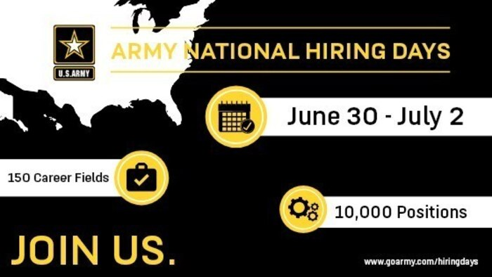 All Army Personnel, Veterans Asked to be Recruiters Next Week