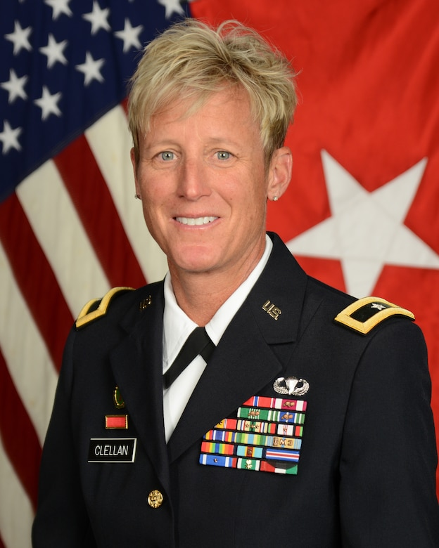 Official Photo of U.S. Army Brig. Gen. Laura Clellan