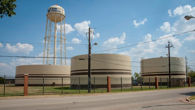 Sheppard AFB public water system