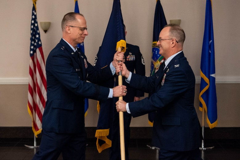 Col. David J. Hornyak takes command of the Standoff Munitions Application Center