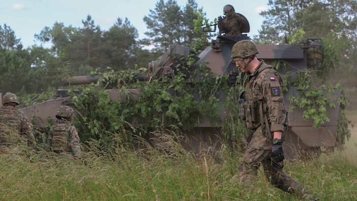 2nd Cavalry Regiment MEDEVAC training with Polish Land Forces