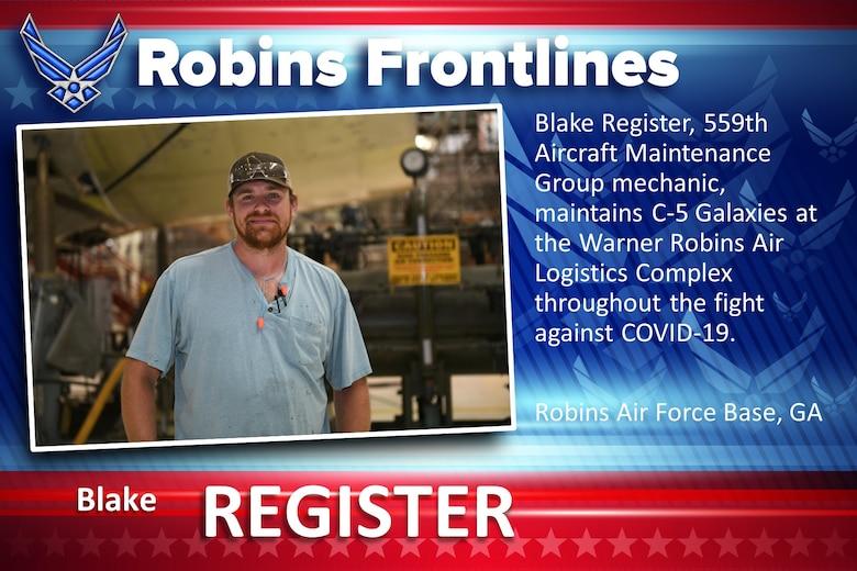 Robins Frontlines: Blake Register