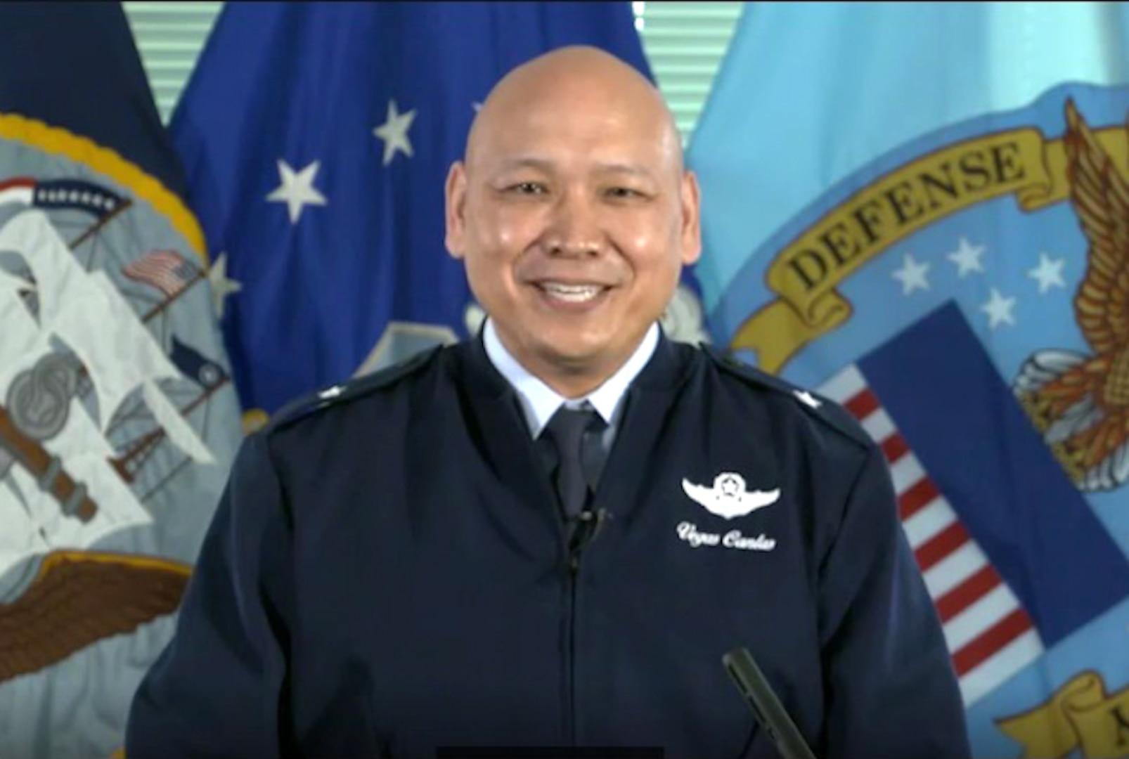 Defense Logistics Agency Energy Commander Air Force Brig. Gen. Jimmy Canlas