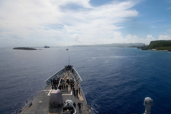 Naval Base Guam Paves the Way for Safe Haven Liberty Ports
